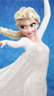 Elsa from the movie Frozen Elsa Frozen, Frozen Hair, Frozen Princess, Disney Princess, Princess Anna, Frozen Wedding Dress, Frozen Dolls, Pictures Of Anna, Jack And Elsa