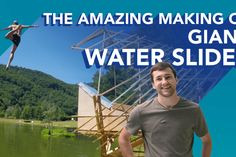 The Amazing Making Of - Giant Water Slide - The Handy Mano Outdoor Pallet Bar, Diy Outdoor Table, Outdoor Fire, Giant Water Slide, Water Slides, Diy Planter Box, Diy Planters, Plastic Bottle Greenhouse, Plastic Bottles