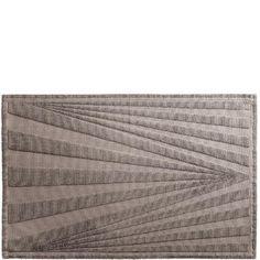 Design by Bernadotte & Kylberg badrumsmatta Optica grå 50x80 cm