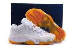 """159180b5b0c New Air Jordan 11 Low GS """"Citrus"""" Top Deals 6zwMf"""
