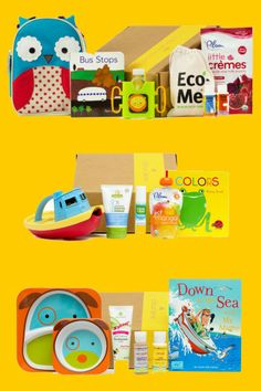 Monthly box of products for your little one l Citrus Lane