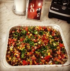 Julianne Hough's Cowboy Caviar recipe- haven't tried it with olives yet but sounds delish