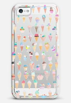 Casetify iphone 5 case | Ice CreamTransparent