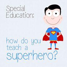 Special Ed: How Do You Teach a Superhero