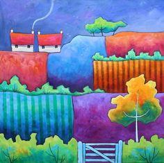 gillian mowbray   Storm Fields by Gillian Mowbray