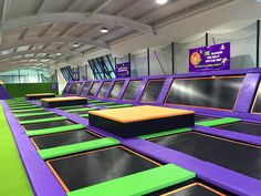 Jump Arena Trampoline Park UK: Jump as high as you can at your favourite indoor trampoline park London