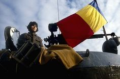 Romanian Revolution, Bucharest Romania, Capital City, Flag, Military, Christmas, Xmas, Navidad, Science