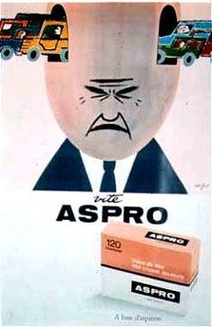 Les Arts Décoratifs - Site officiel - Savignac (1907-2002) - Aspro, Savignac, 1964
