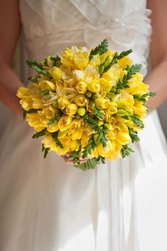 Yellow wedding bouquet reception wedding flowers,  wedding decor, wedding flower centerpiece, wedding flower arrangement, add pic source on comment and we will update it. www.myfloweraffair.com can create this beautiful wedding flower look.