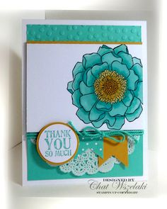 Belnded Bloom, Me, My Stamps and I, Stampin' Up