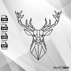 Excited to share the latest addition to my #etsy shop: Abstract deer SVG vector Clipart Svg Files, printing design, png, pdf, DXF, Insta Download http://etsy.me/2EjXqP3 #supplies #engraving #deer #deersvg #deervector #vector #abstract #abstractdeer #ideaboxlt