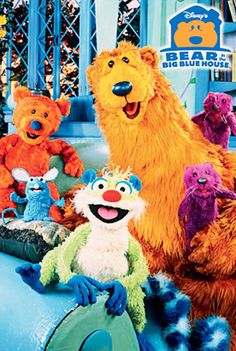 Who Else Misses The Bear In The Big Blue House