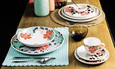 Colour is the hottest trend at Homi January textiles, plates, trays, pots and vases. Table Accessories, Rainbow Colors, Modern, Colours, Plates, Tableware, Design, Inspiration, Home Decor