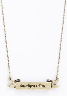 Opening Line Necklace