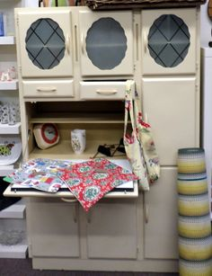 Vintage 1930s larder kitchen unit - http://whatkatydid.biz/product/previously-sold/vintage-1930s-larder-kitchen-unit/
