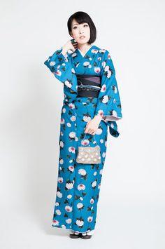 [あす楽対応]お仕立て上がりプレタ着物レディース11種類094-668【kimonoMLサイズ対応袷洗える着物ポリエステルアイロンOKカジュアルおしゃれかわいいお洒落着きものレディース女性用送料無料】