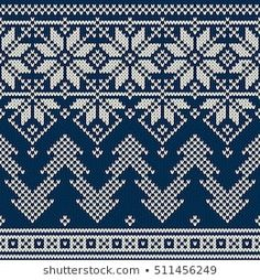 Similar Images, Stock Photos & Vectors of Seamless Fair Isle Knitted Pattern. Festive and Fashionable Sweater Design - 230600785 Knitting Patterns, Crochet Patterns, Scandinavian Pattern, Knitting Stiches, Fair Isles, Fair Isle Knitting, Sweater Design, Winter Holidays, Bohemian Rug