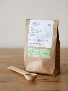 gardens&co. #print #packaging #coffee