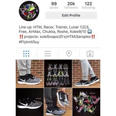 Thank you IG fam for reaching 20k  #Flyknit #Grateful #Thankful #Blessed by flyknitguy #DaylightStyle