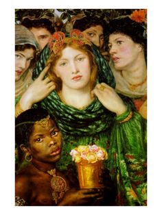 The Beloved   By Dante Gabriel Rossetti