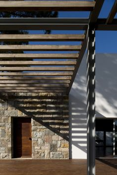Frederico Valsassina Arquitectos | House in Banzão- timber in i beam