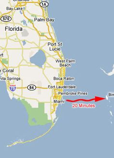 37 Best Maps of Bimini & The South East Florida coastline images ...