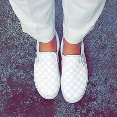 The Classic Slip-On has a low profile, slip-on canvas upper with all-over checkerboard print, elastic sides with foxing stripe and outsole details just like the original. >>> You can get additional details at the image link.