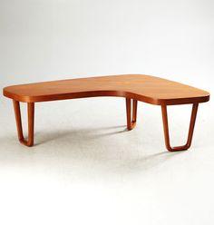 Alberts Tibro, teak table, 1960s