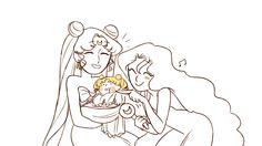 Strongest in the universe by mimimonart Sailor Moon Fan Art, Sailor Moon Manga, Sailor Moon Crystal, Neo Queen Serenity, Princess Serenity, Princesa Serena, Sailor Moon Collectibles, Demon Days, Old Anime