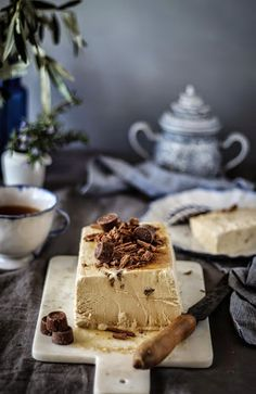 espresso semifreddo recipe from lomelinos icecream and a giveaway