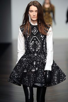 Amazing print and pattern from #KTZ at #LFW yesterday, did you have a favourite show?