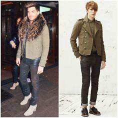 What's he wearing?: Adam Lambert in Balmain - London Street Style