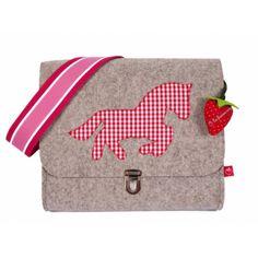 Filz Kindergartentasche Pferd
