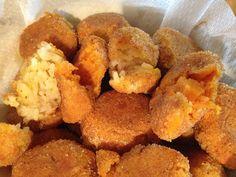 Perle ai Porchy: Polpette di riso e polpette di zucca al forno