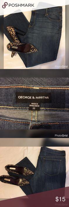 🌹George & Martin Jeans Size 22 🌹George & Martin Jeans Size 22 👖L- 29 1/2 George & Martin Jeans Boot Cut