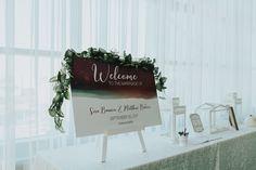 Lauren Baker Print & Design | Wedding Stationery | Star Moon Nightsky Wedding Invitation | Wedding Reception Welcome Sign | Photo by: Iron & Bragg Photography
