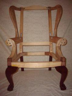 Кресло с ушками своими руками