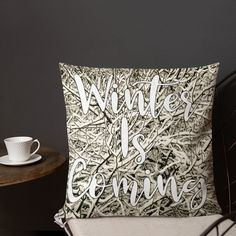 Winter Is Coming Festive Cushion Xmas Pillows Christmas Present Snow Scene Holiday Gift For Her Xmas Gift For Him Teen Room Decor Teen Room Decor Ideas Christmas Coming Cushion Decor Festive Gift Holiday pillows Present Room Scene Snow Teen Winter Xmas Xmas Gifts For Him, Christmas Presents, Holiday Gifts, Gifts For Her, Teen Room Decor, Snow Scenes, Christmas Pillow, Beautiful Gifts, Winter Is Coming