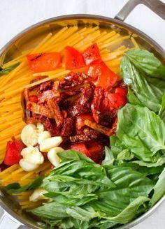 One Pot Pasta Rezept