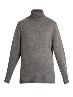 CHLOÉ Roll-Neck Cashmere Sweater. #chloé #cloth #sweater