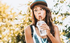 The benefits of being fully hydrated can't be overstated, but getting your 8 glasses of water is easier said than done, so check out our tips and tricks! Stay Hydrated, Women's Health, Drinking Water, How To Stay Healthy, Glasses, Drinks, Check, Tips, Eyeglasses