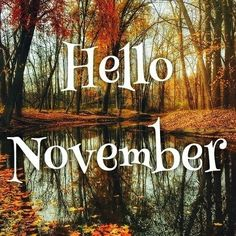 Hello November 7 weigh ins until xmas. I've been off for midterm break. Didnt get to a group because I was out of the. November Pictures, November Images, November Quotes, Hallo November, Welcome November, Sweet November, November 2019, Seasons Months, Days And Months