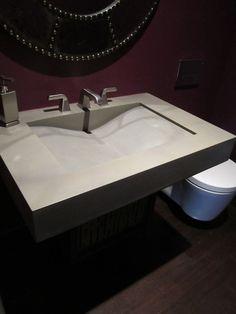 Concrete Sink-Single wave