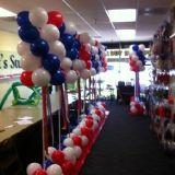 Patriotic Balloon Decor
