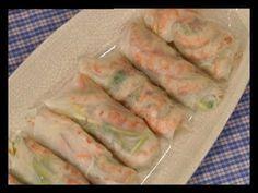 Menos es mas - Rolls de papel de arroz - Sopa won ton - Tofu asado - Pollo kung pao - YouTube