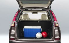 2015 Honda CR-VFor the first time, the CR-V has a power tailgate. [Touring]