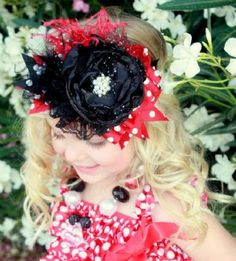 Couture Minnie Mouse Headband