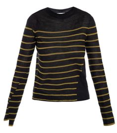 Faye Stripe Sweater by A.L.C. inlove with #stripes #matchesfashion