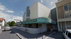 Complexe Sportif René-Doriant - 1975-84 - #architecture #googlestreetview #googlemaps #googlestreet #france #montreuil #brutalism #modernism