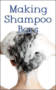 Shampoo Bars Castile Soap Shampoo, Unscented Shampoo, Baking Soda Shampoo, Diy Shampoo, Homemade Shampoo, Solid Shampoo, Natural Shampoo, Homemade Hair, Shampoo Bar